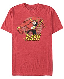 DC Men's Fast Flash Portrait Short Sleeve T-Shirt