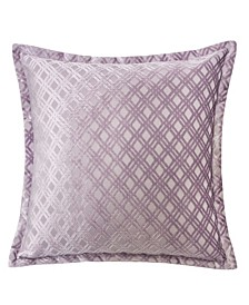 Emma Jacquard Throw Pillow, Checkered