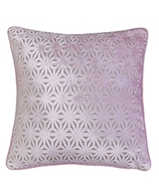Allison Modern Velvet Square Decorative Throw Pillow