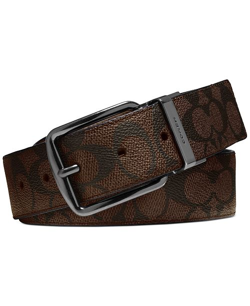 COACH Men's Reversible Leather Belt