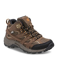 Kids Toddler, Little and Big Boy Moab 2 Mid Waterproof Hiker