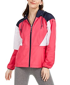 Side Hill Colorblocked Hooded Jacket