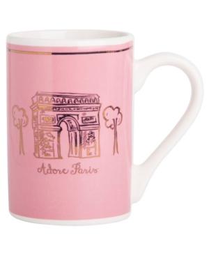 Home Essentials Adore Paris Pink Mug, Created for Macy's