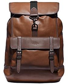 Men's Bleecker Leather Backpack