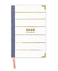 2020 dream.plan.do. 12-month Weekly Planner Agenda