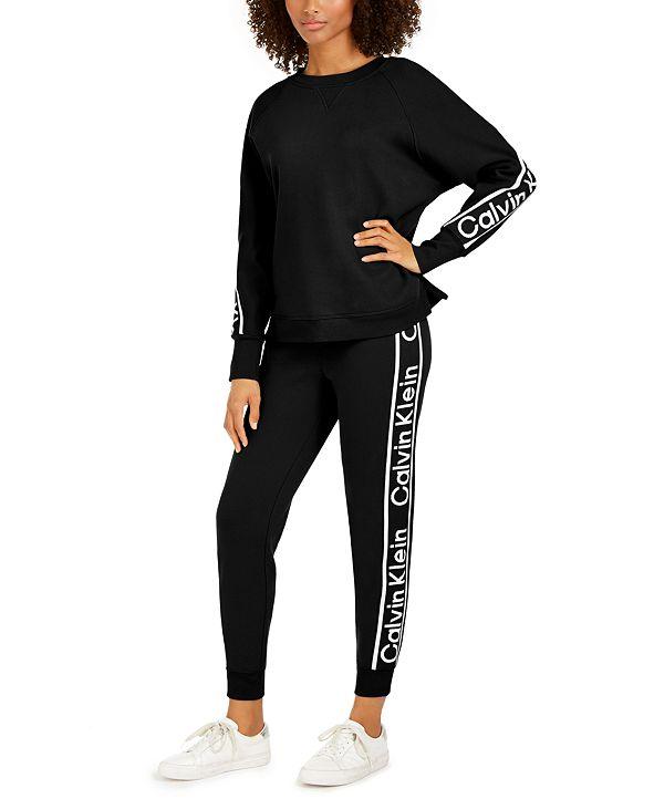 Calvin Klein Logo Fleece Sweatshirt