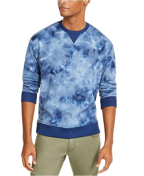 INC International Concepts INC Men's Tie Dye Sweatshirt, Created For Macy's
