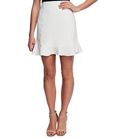 Ruffled-Hem Skirt