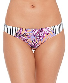 Juniors' Hawaii Printed Hipster Bikini Bottoms, Created for Macy's