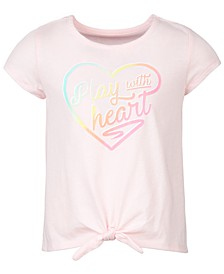 Toddler Girls Heart Tie-Front T-Shirt, Created for Macy's