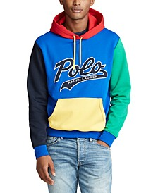 Men's Color-Blocked Logo Hoodie