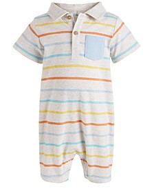 Baby Boys Striped Sunsuit, Created for Macy's