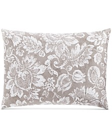 Jacobean Cotton 300-Thread Count Standard Sham, Created for Macy's