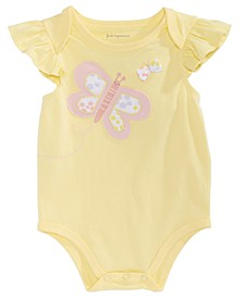 Baby Girls Butterfly Bodysuit, Created for Macy's