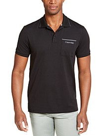 Men's Move 365 Logo Tipped Polo Shirt