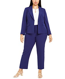 Plus Size Pants Suit