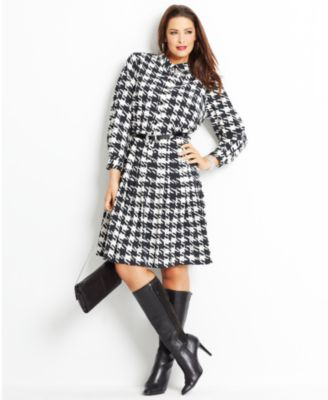 Dress and Boots Look