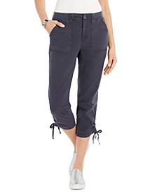 Tie-Hem Capri Pants, Created for Macy's