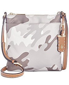 Julia Camo Crossbody