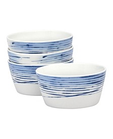 Hanabi Set/4 Cereal Bowls