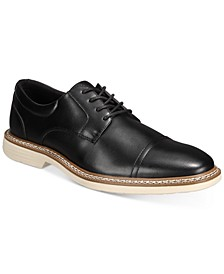 Men's Hybrid Cap-Toe Oxfords, Created for Macy's