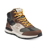 Deals on Timberland Mens Field Trekker Fabric and Leather Mid Hikers