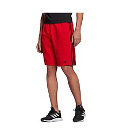 Men's Essentials 3-Stripe Fleece Shorts