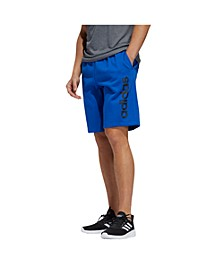 "Men's Linear Logo 11"" Fleece Shorts"