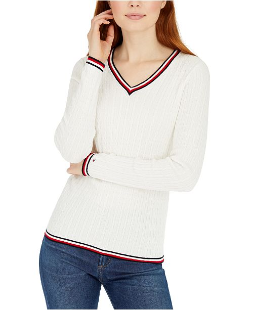 Tommy Hilfiger Cable-Knit Sweater