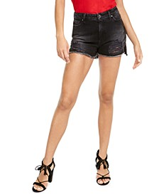 Claudia Distressed Denim Shorts