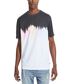 Men's Oversized Ombre T-Shirt