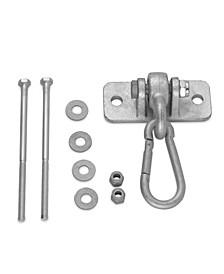 Heavy Duty Swing Hanger with Snap Hook, Set of 10