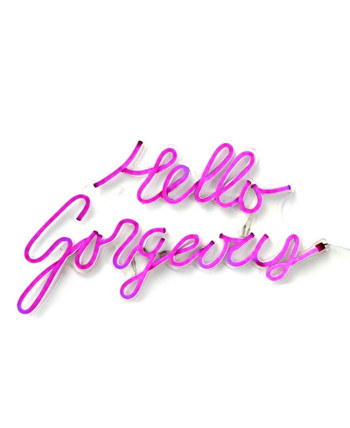 COCUS POCUS - Hello Gorgeous LED Neon Sign