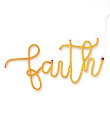 Faith LED Neon Sign