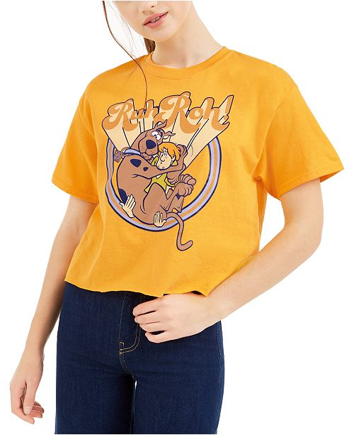 Warner Brothers Juniors' Scooby Doo Graphic T-Shirt