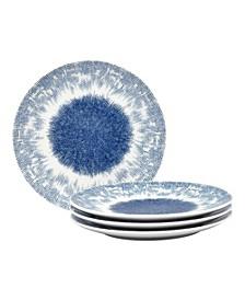 Aozora Set/4 Coupe Salad Plates