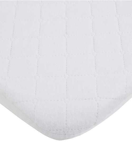 Carter's Water Resistant Quilted Mini Crib Fitted Mattress Pad