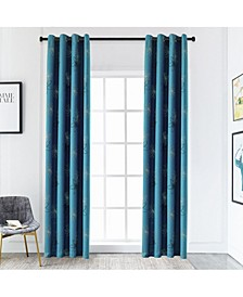 "Crawford Room Darkening Curtain, 63"" L x 52"" W"