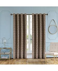 "Simone Lined Room Darkening Curtain, 95"" L x 54"" W"