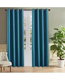 "Odyssey Room Darkening Curtain, 54"" L x 52"" W"