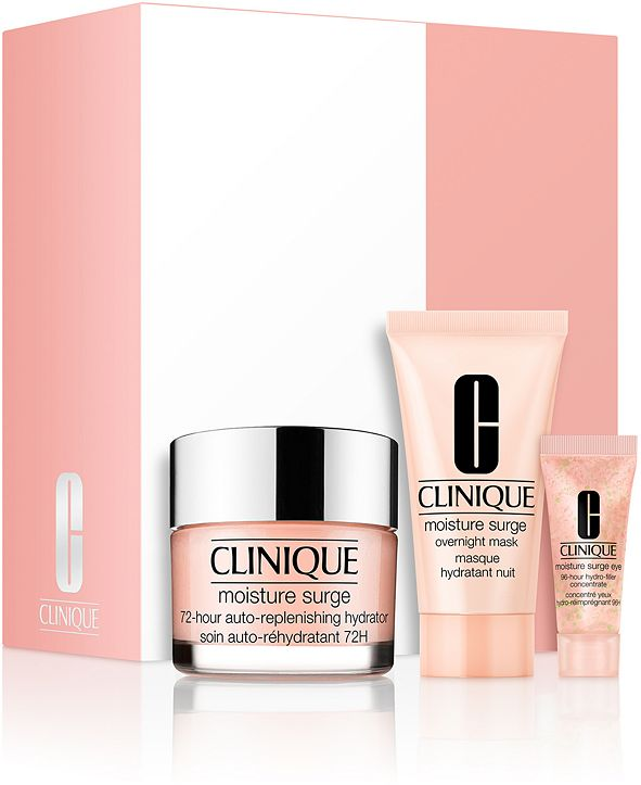 Clinique 3-Pc. Skincare Specialists Set - 72 Hour Hydration