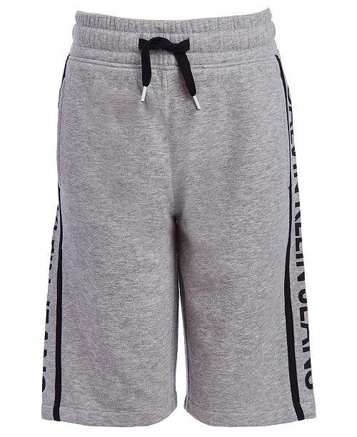 Calvin Klein Big Boys Knit Logo Shorts