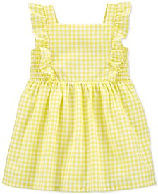 Baby Girls Cotton Gingham Dress