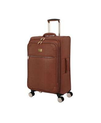 """27"""" Compelling Softside Semi-Expandable Spinner Suitcase"""