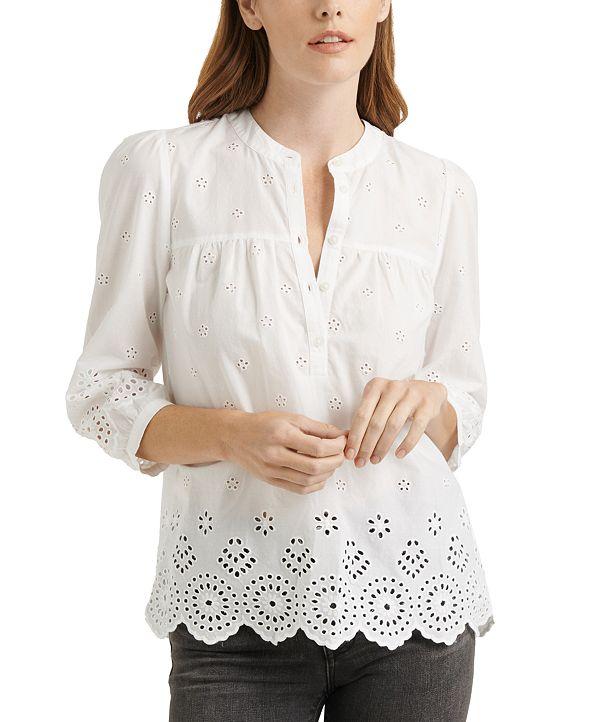Lucky Brand Rebecca Eyelet Shirt