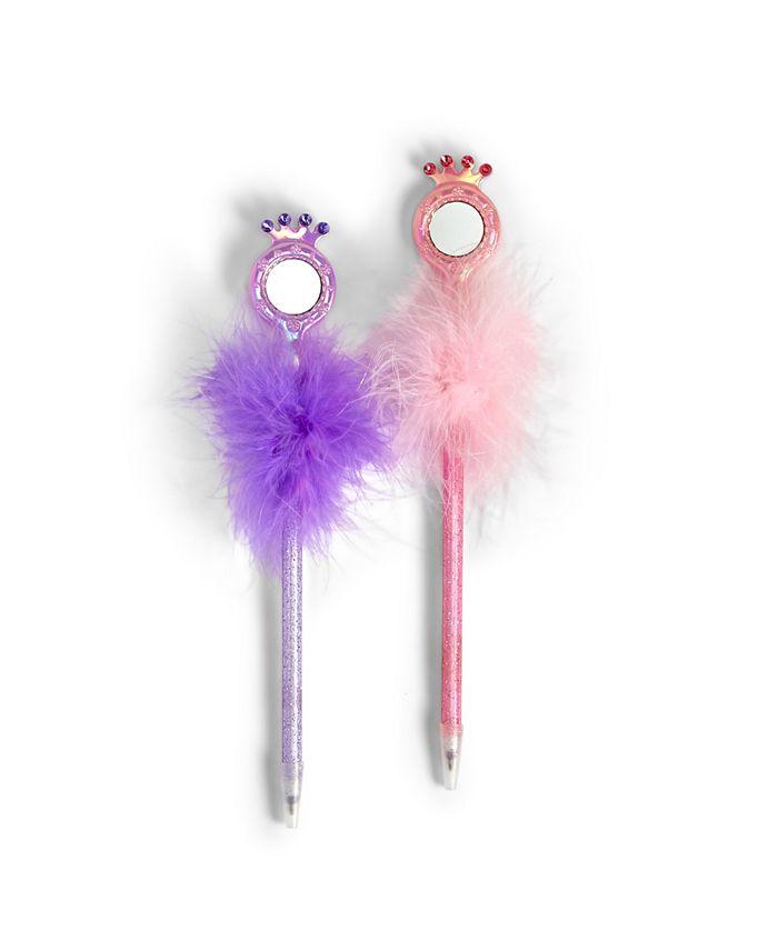 Celebrate Shop - Refill for Mirror Mirror 32 Pc Glitter Pen Includes 2 Colors: Light Pink and Purple non-refillable - Acrylic/Plastic