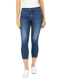 Juniors' Cropped Skinny Jeans