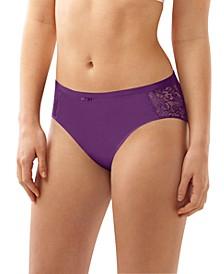 Cotton Desire Lace Hi Cut Brief Underwear DFCD62