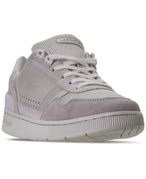 Lacoste WOMEN'S T-STRAP CASUAL SNEAKERS FROM FINISH LINE