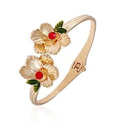 Winter Garden Bypass Hinge Bracelet
